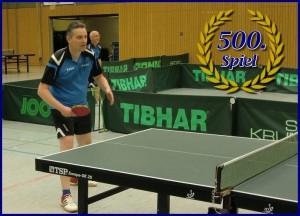 Markus Brenner 500 Spiele 2