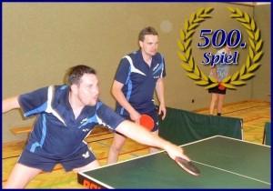Markus Brenner 500 Spiele 3