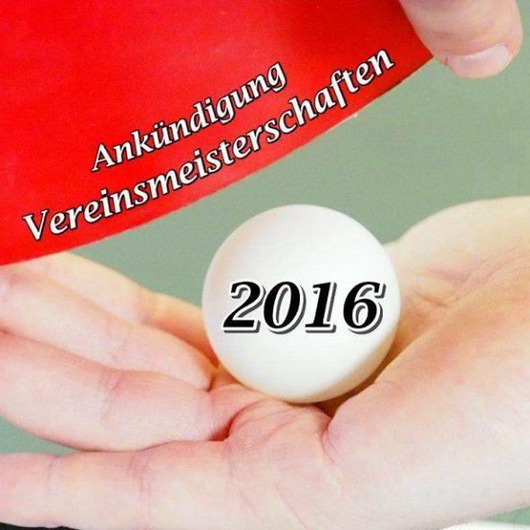 Vereinsmeisterschaften Ankündigung 2016 neu